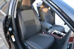 Авточехлы Premium для салона Toyota Camry V50 '11-17 серая строчка (MW Brothers)