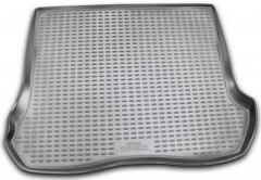 Коврик в багажник для Jeep Grand Cherokee '04-10, полиуретановый (Novline / Element) серый