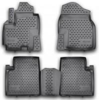 Коврики в салон для Lifan X60 полиуретановые (Novline / Element)