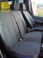 Авточехлы Premium для салона Volkswagen Crafter '06-16 серая строчка (MW Brothers)