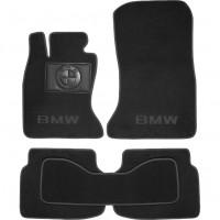 Коврики в салон для BMW 7 F01 '08-15 текстильные, черные (Премиум)