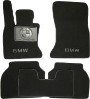 Коврики в салон для BMW 5 F07 GT '09- текстильные, черные (Премиум)