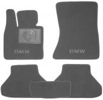 Коврики в салон для BMW X6 E71 '08- текстильные, серые (Премиум)