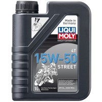LIQUI MOLY Motorbike 4T 15W-50 Street, 1 л