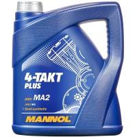 Mannol Mannol 4-Takt Plus 10W-40, 4 л