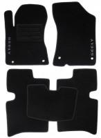 Коврики в салон для Geely MK / MK Cross HB '11- текстильные, черные (Люкс)