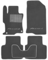 Коврики в салон для Honda Accord 8 '08- USA текстильные, серые (Премиум) 2 дв. купе