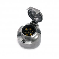 Штекер для прицепа алюминиевый AMiO, 01257