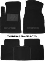 Коврики в салон для Hyundai Grandeur '05-11 текстильные, черные (Премиум)