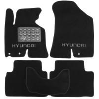 Коврики в салон для Hyundai ix-35 '10-15 текстильные, черные (Премиум)