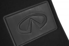 Фото 6 - Коврики в салон для Infiniti FX (QX70) с 2009 текстильные, черные (Премиум)
