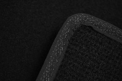 Фото 9 - Коврики в салон для Infiniti FX (QX70) с 2009 текстильные, черные (Премиум)