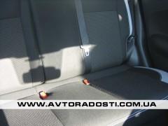 Авточехлы Premium для салона Nissan Juke '11- с серыми вставками (MW Brothers)