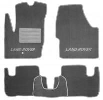Коврики в салон для Land Rover Freelander II '06-14 текстильные, серые (Премиум)