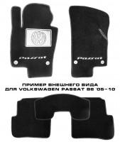 Фото 1 - Коврики в салон для Volkswagen Phaeton '02-16 текстильные, черные (Премиум)