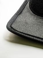 Фото 3 - Коврики в салон для Volkswagen Phaeton '02-16 текстильные, черные (Премиум)