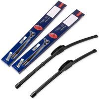 Щетки стеклоочистителя бескаркасные Denso Flat 700 и 530 мм. (набор)