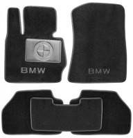 Коврики в салон для BMW X3 F25 '10-17 текстильные, черные (Люкс)