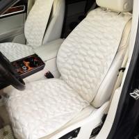 Накидки на передние сидения экозамшевые, бежевые SOTA Design