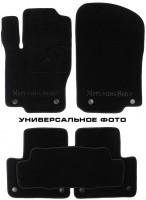 Коврики в салон для Seat Ibiza '08- текстильные, черные (Премиум)