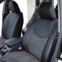 Авточехлы Leather Style для салона Toyota RAV4 Hybrid '19- (MW Brothers)