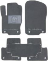 Textile-Pro Коврики автомобильные Mercedes ML-350 W166 '11-18 текстильные серые (Премиум) 8 клипс