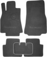 Коврики в салон для Mercedes A-Class W169 '04-11 текстильные, серые (Премиум)