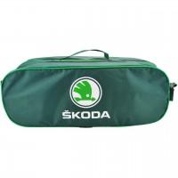 Сумка-органайзер Skoda, зеленная (Poputchik)
