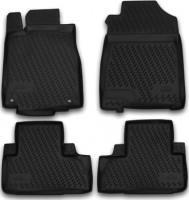 Коврики в салон для Honda CR-V '12- полиуретановые, черные (Novline / Element) c сабв.