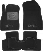 Фото 1 - Коврики в салон для Opel Insignia '09- текстильные, черные (Премиум)