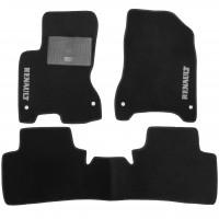 Коврики в салон для Peugeot 508 '11- текстильные, черные (Премиум)
