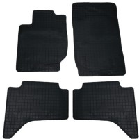 Ковры резиновые для Mitsubishi Pajero Sport '08-16 резиновые (Stingray)