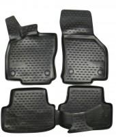 Коврики в салон 3D для Volkswagen Golf VII '12- полиуретановые (Novline / Element)