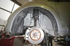 Подкрылок передний правый для Citroen C1 '05-14 (Novline)