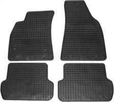 Коврики в салон для Audi A4 '00-08 резиновые, черные (Petex)