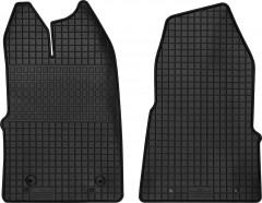 Коврики в салон для Ford Transit Custom '13-, резиновые, черные (Petex) передние