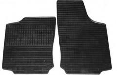 Коврики в салон для Opel Corsa C '00-06 резиновые, черные (Petex) передние