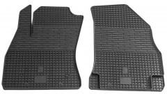 Коврики в салон передние для Fiat Doblo '10- резиновые (Stingray)