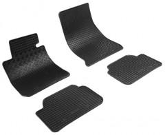 Коврики в салон для BMW 1 F20 '12- резиновые, черные (Rigum)