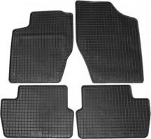 Коврики в салон для Citroen C4 '05-09 резиновые, черные (Petex)