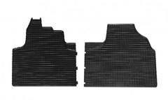 Коврики в салон для Citroen Jumpy '96-07 резиновые, черные (Petex)