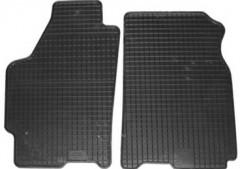 Коврики в салон для Mazda 626 '97-02 (GF) резиновые, черные (Petex) передние