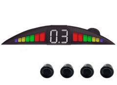 Парктроник Falkon 2611 с датчиками черного цвета (4 датчика)