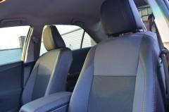 Авточехлы Premium для салона Toyota Camry V50 '11-17 коричневая строчка (MW Brothers)