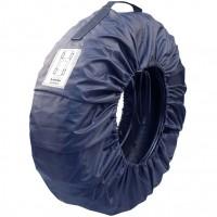 Защитные чехлы для запасных колес Lavita L (R13-R15) синие, 4 шт