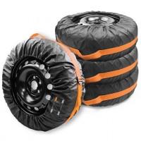 Защитные чехлы для запасных колес Lavita L (R13-R15) черные, 4 шт