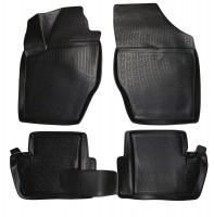Коврики в салон для Citroen C4 / DS4 '11- полиуретановые, черные (L.Locker)