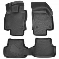 Коврики в салон 3D для Volkswagen Golf VII '12-20 полиуретановые (L.Locker)