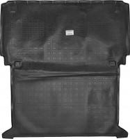 Коврик в багажник для Renault Kangoo '09- (грузовой), полиуретановый (NorPlast) черный