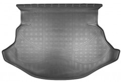 Коврик в багажник для Toyota Venza '10-16, полиуретановый (NorPlast) черный